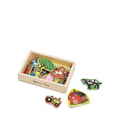 Melissa & Doug - Farm magnets