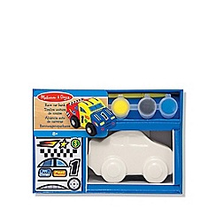 Melissa & Doug - Race car bank
