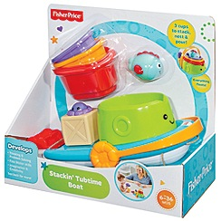 Fisher-Price - Stackin' tubtime boat