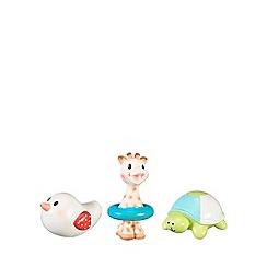 Sophie la girafe - set of 3 bath toys