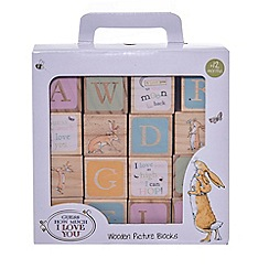 Guess How Much I Love You - Wooden Picture blocks