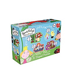 Ben & Holly's Little kingdom - 4 in 1 Shaped Jigsaw Puzzle