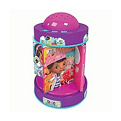 Doc McStuffins - Book & night light carousel
