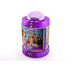 Disney Sofia the First - Book & night light carousel