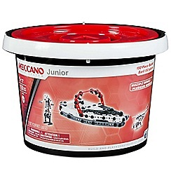 Meccano - Junior 150 pieces bucket