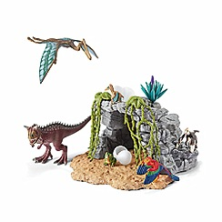 Schleich - Prehistoric animals Schleich Dinosaur Set with Cave