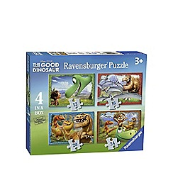 The Good Dinosaur - 4 in 1 jigsaw puzzles