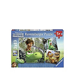The Good Dinosaur - Jigsaw puzzles 3 x 49 pieces