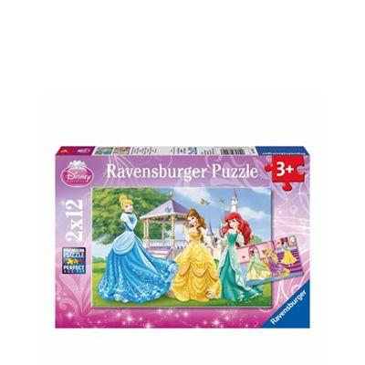 Disney Princess Jigsaw puzzles - 2 x 12 pieces