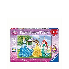 Disney Princess - Jigsaw puzzles - 2 x 12 pieces