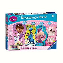 Doc McStuffins - Shaped jigsaw puzzles