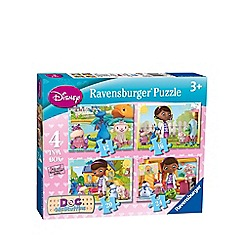 Doc McStuffins - 4 in 1 jigsaw puzzles
