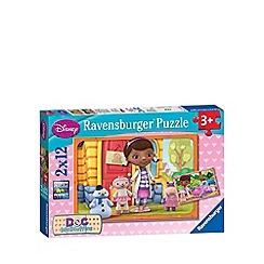 Doc McStuffins - Jigsaw puzzles 2 x 12 pieces