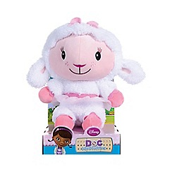 Doc McStuffins - Lambie stylised soft toy in gift box