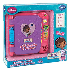 Doc McStuffins - Doc mcstuffins discover & learn big book of boo boo's