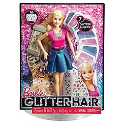 Barbie - Glitter hair doll