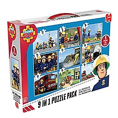 Fireman Sam - 9 in 1 Bumperpack Jigsaw Puzzle
