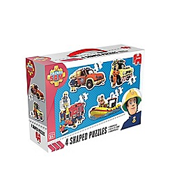 Fireman Sam - 4 in 1 Shaped Jigsaw Puzzle