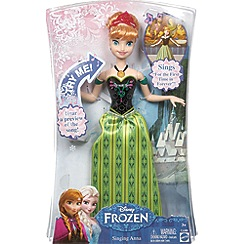 Disney Frozen - Singing Anna doll