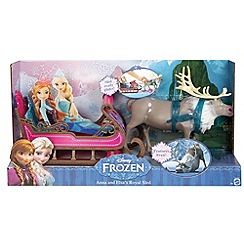 Disney Frozen - Anna and Elsa's royal sled