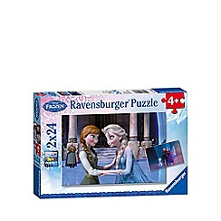 Disney Frozen - Jigsaw puzzles 2 x 24 pieces