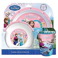 Disney Frozen - Tumbler, bowl and plate set