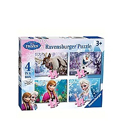 Disney Frozen - 4 in 1 jigsaw puzzles