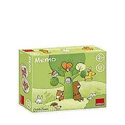 Jumbo - Tom and Friends Forest Wooden Memo Game