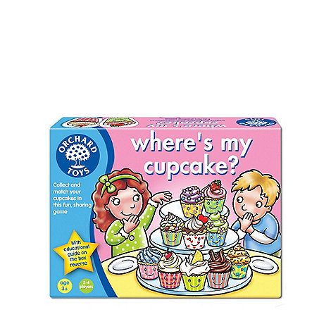 Orchard Toys - Where+s my cupcake? Game