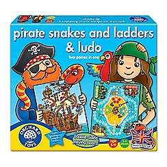 Orchard Toys - Pirate snakes and ladders and ludo game