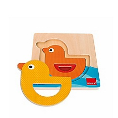 Jumbo - 3 Levels Duck Wooden Jigsaw Puzzle