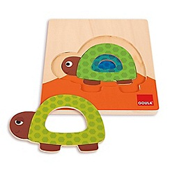 Jumbo - 3 Levels Turtle Wooden Jigsaw Puzzle