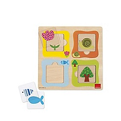 Jumbo - Transparencies Wooden Jigsaw Puzzle