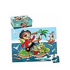 Jumbo - 35 piece Pirate Puzzle in a Tin