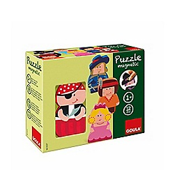 Jumbo - Interchangeable Magnetic Wooden Character Puzzles