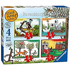 Ravensburger - Stickman Puzzle (Pack of 4)