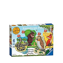 The Gruffalo - 4 shaped jigsaw puzzles