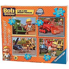 Bob the Builder - 4 in 1 jigsaw puzzles