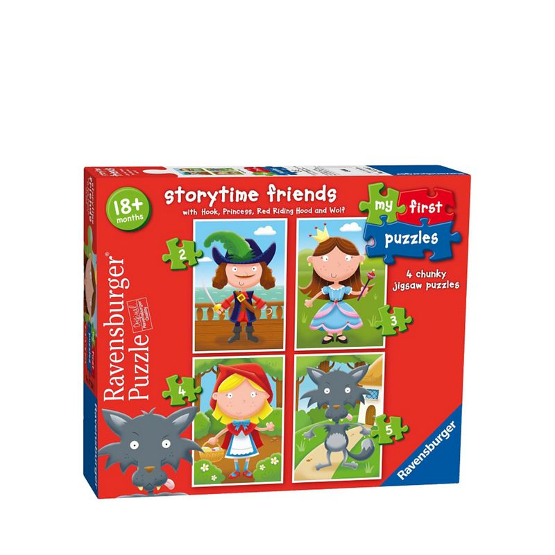 Ravensburger 4 in 1 jigsaw puzzles
