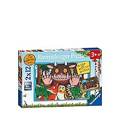 The Gruffalo - Jigsaw puzzles 2 x 12 pieces