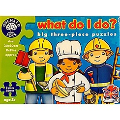 Orchard Toys - What do I do puzzle