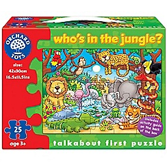 Orchard Toys - Who's in the jungle puzzle