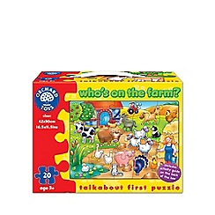 Orchard Toys - Who's on the farm puzzle