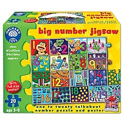 Orchard Toys - Big number puzzle