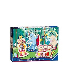 In the Night Garden - 4 shaped jigsaw puzzles