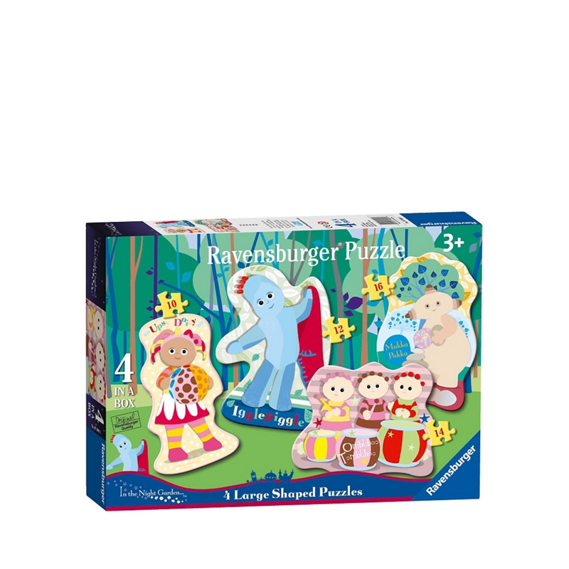 In the Night Garden 4 Shaped Jigsaw Puzzles