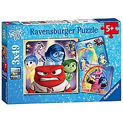 Disney Inside Out - Jigsaw puzzles 3 x 49 pieces