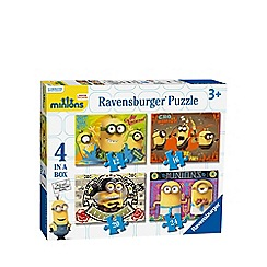 Despicable Me - 4-in-1 Minions jigsaw puzzles