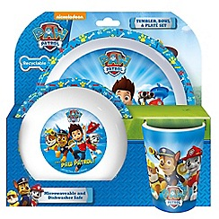Paw Patrol - Tumbler, bowl and plate set