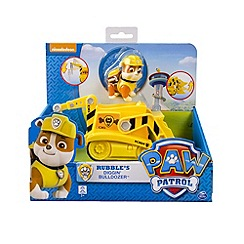 Paw Patrol - Rubble Basic Vehicle Bulldozer Crane